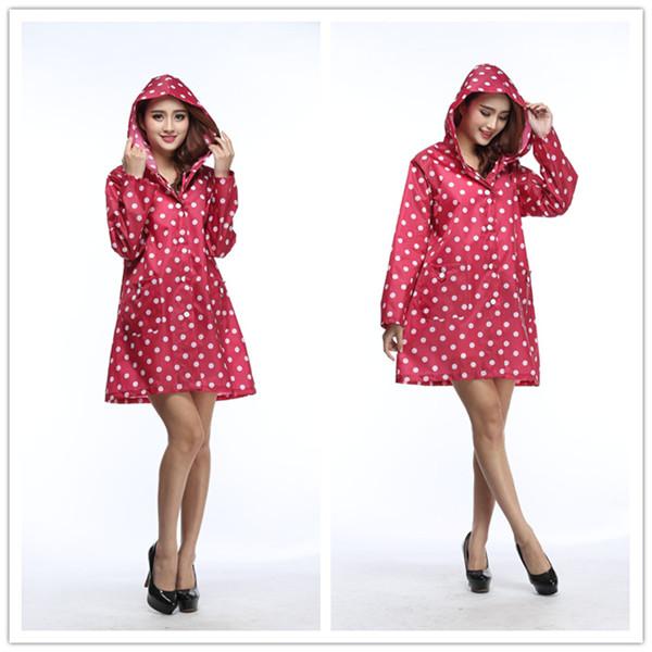 时尚户外雨衣