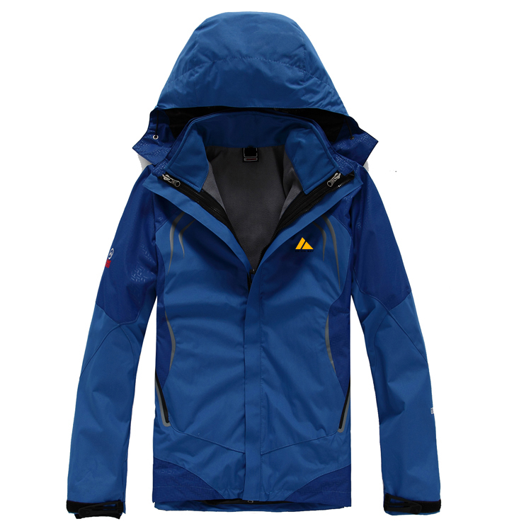 CFY004 在路上男款户外两件套反光冲锋衣